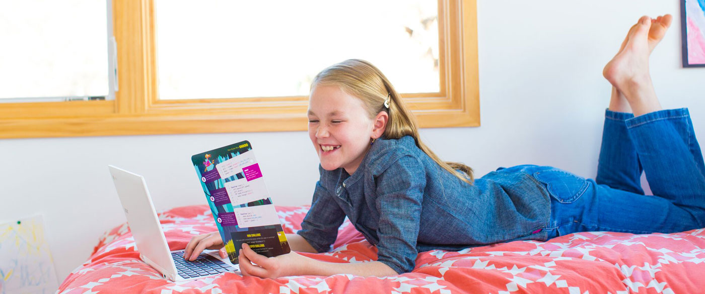 Kids love coding with Bitsbox